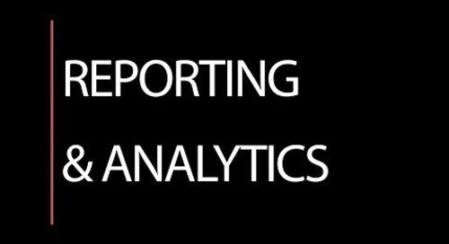 Reporting & Analytics