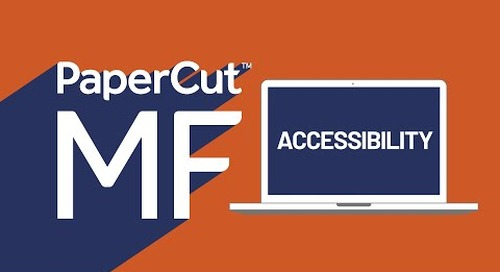 Accessibility with PaperCut MF