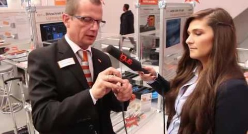 Hannover Messe 2016 Introduction to ChainFlex® CFRIP cable strip technology