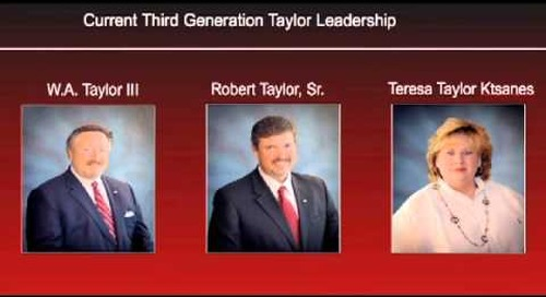 Taylor Group of Companies - 2012 Innovators Hall of Fame Excellence Award Recipient Tribute Video
