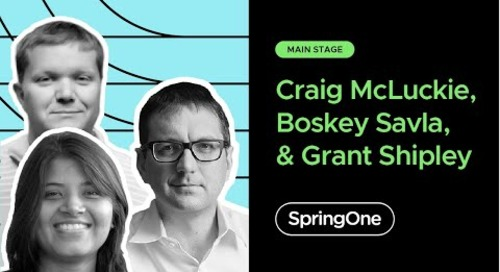 Craig McLuckie at SpringOne 2020