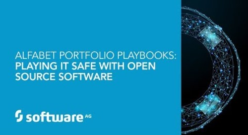 Alfabet Portfolio Playbooks: Playing it Safe with Open Source Software