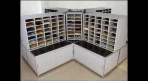 Postal Specialties 10550 105500 Hamilton Sorter Mailroom Furniture Slots Dallas Ft Worth Houston