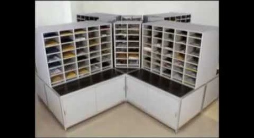 Postal Specialties 10550 105500 Hamilton Sorter Mailroom Furniture Slots Dallas Ft Worth Houston