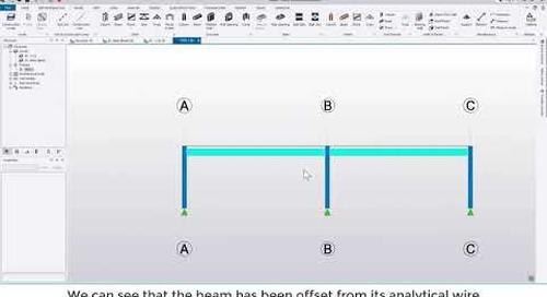 Tekla Structural Designer 2020 - Quick start 1 - Getting started with a simple frame