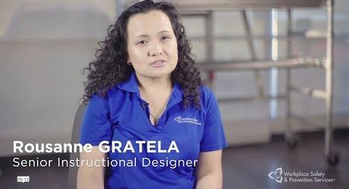 We love what we do: Rousanne Gratela