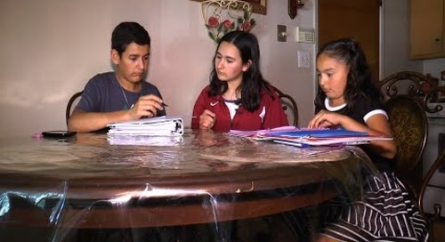 Immigrant student sets sights on success...college