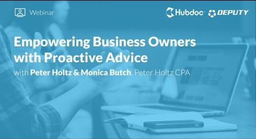 Empowering Business Owners with Proactive Advice
