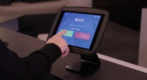 ClearID visitor self check-in