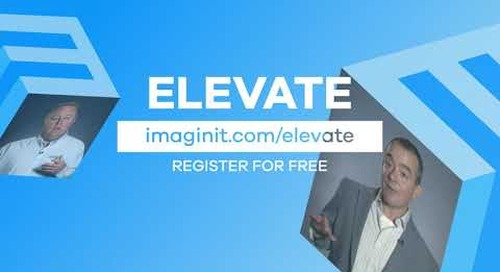 Elevate Virtual Conference: May 19 – 20, 2021