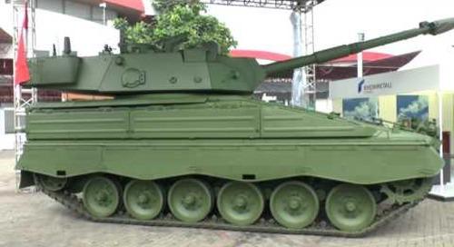 IndoDef 2016: Rheinmetall Marder Medium Tank RI