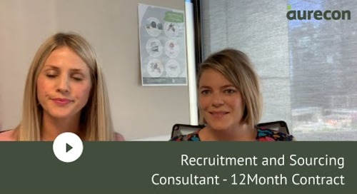 Recruitment and Sourcing Consultant - 12Month Contract