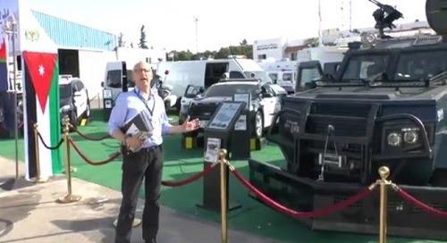 SOFEX 2016: Al-Jawad Mk III Internal Security Vehicle