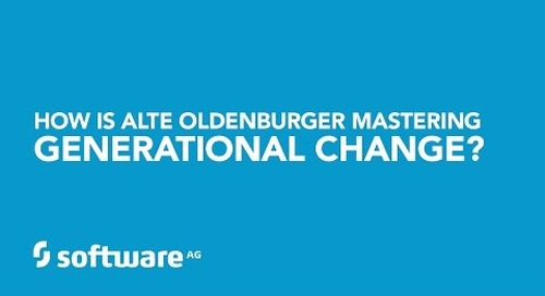 Generations work together as a team at ALTE OLDERBURGER