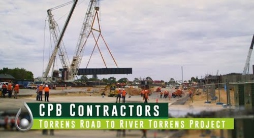 Torrens Road to River Torrens project awarded Excellence in Civil Construction