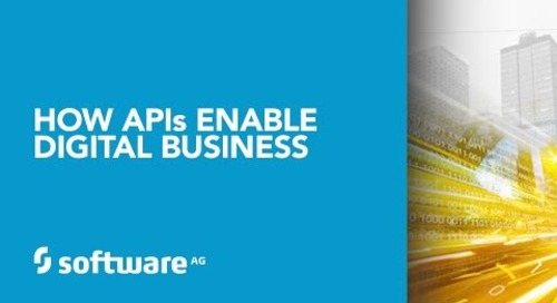 Webinar Featuring Forrester: How APIs Enable Digital Business