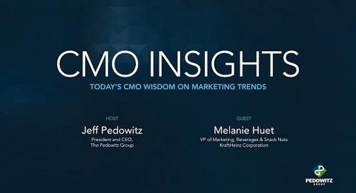 CMO Insights: Melanie Huet, VP Marketing, KraftHeinz Corporation