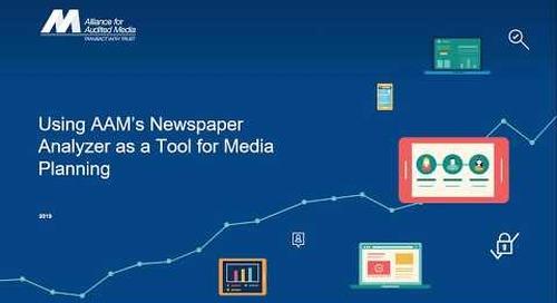 Media Planning with AAM Newspaper Data [webinar]