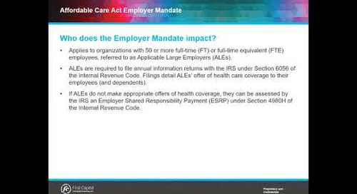 What are ALEs and What are Their Responsibilities Under the Employer Mandate?