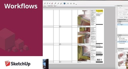 SketchUp for Construction Documentation: Details in Layout
