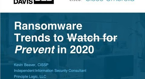 Ransomware Trends to Prevent in 2020