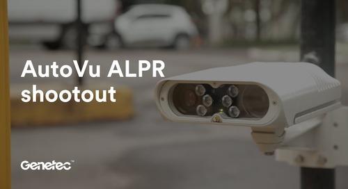Genetec AutoVu ALPR shootout