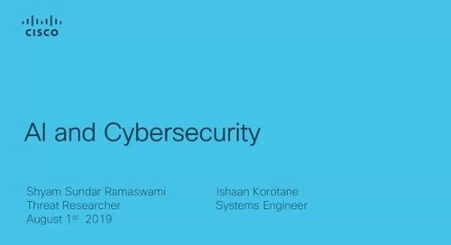 AI and cybersecurity: Is AI the solution to cyber attack risks?