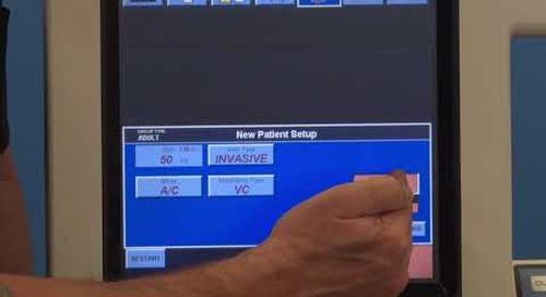 Puritan Bennett 840 Ventilator - GUI Interface