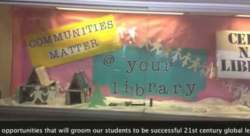 Pottsgrove High School Library Promotes 21st Century Learning