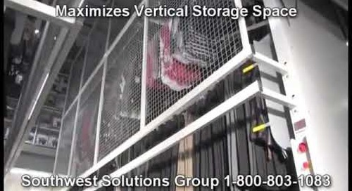 Motorized Hanging Garment Carousel | Vertical Carousel for Clothing Storage | Clothing Racks