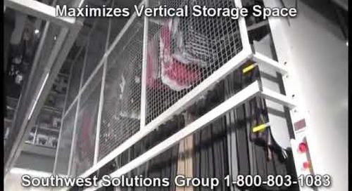 Motorized Hanging Garment Carousel   Vertical Carousel for Clothing Storage   Clothing Racks