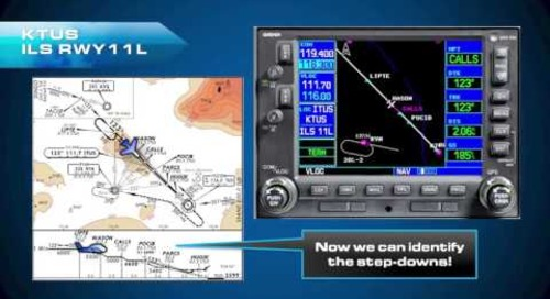 Garmin 400 430 IFR - Vectors to Final