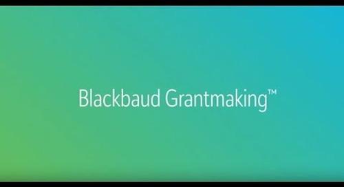 Blackbaud Grantmaking