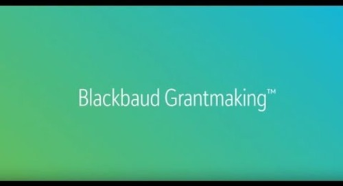 Blackbaud Grantmaking