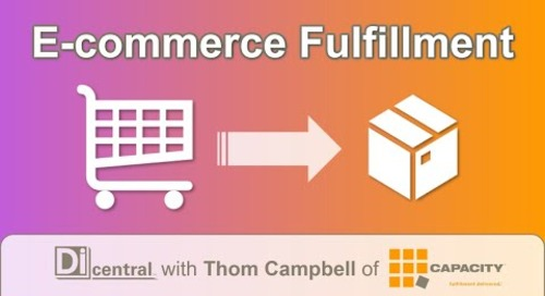 E-commerce Fulfillment (with Thom Campbell of Capacity LLC)