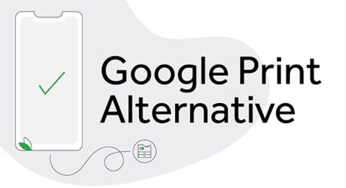 Google Cloud Print Alternative | PaperCut Mobility Print