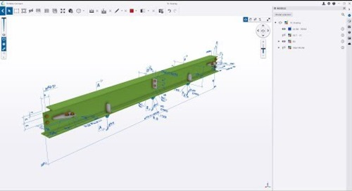 Overlay 2D Annotations on a 3D Model