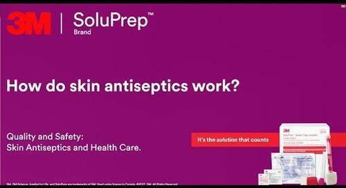 How do skin antiseptics work?