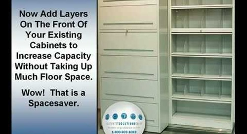 Locking Steel Shelving Doors | Rolling Shelving Doors | Flipper Doors for File Cabinets