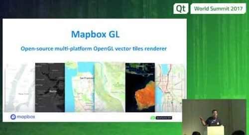 QtWS17 - Automotive navigation with Mapbox GL and QtLocation, Bruno de Oliveira Abinader, Mapbox