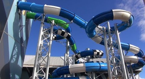 Splash Aqua Park and Leisure Centre: Construction Update May 2017