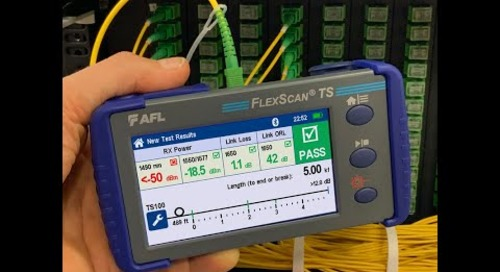 FlexScan TS100 Optical Troubleshooter Promo Video