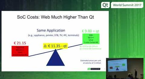 QtWS17 - Qt vs. Web – Total Cost of Ownership, Burkhard Stubert, Embedded Use