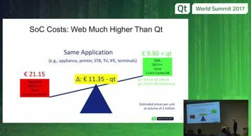 QtWS17 - Qt vs. Web – Total Cost of Ownership, Burkhard Stubert, Embedded Use