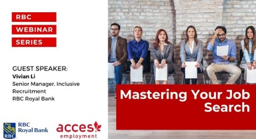 RBC Royal Bank Webinar | Mastering Your Job Search