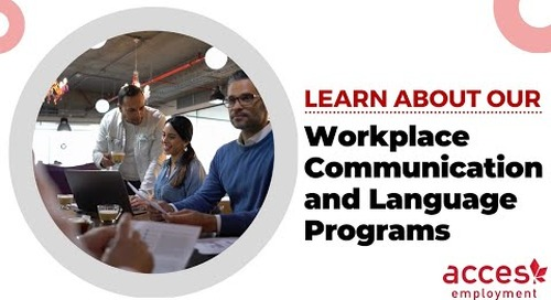 Workplace Communications and Language Programs at ACCES