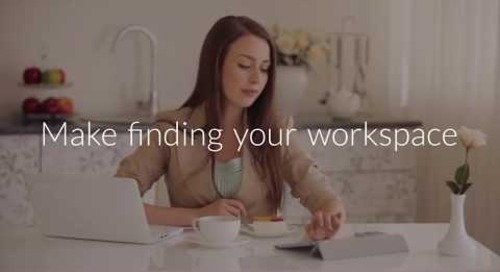 Make finding your workspace Flexible, Convenient and Easy