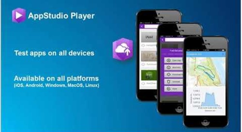 Building Cross platform Native Apps with AppStudio for ArcGIS The Basics
