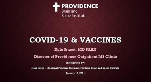 MS & COVID-19 Vaccine