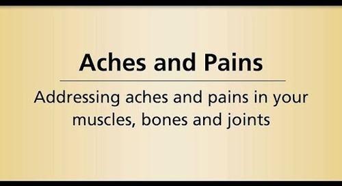 Beyond Cancer Treatment - Aches Pains